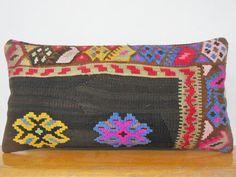 Kilim Pillow turkish pillow throw pillow by KILIMDECOLIC on Etsy, $55.00