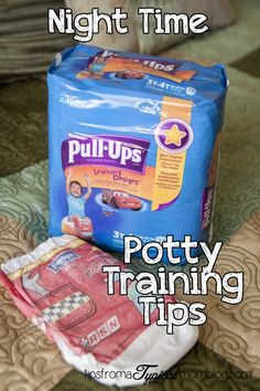 Tips for Potty Training at Night from Tips From a Typical Mom. #sponsored #MC #StartPottyTraining