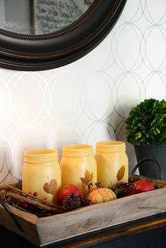 45+ Best Fall Mason Jar Crafts