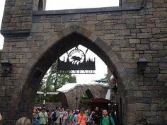 Hogsmeade. Near Hogwarts Castle.