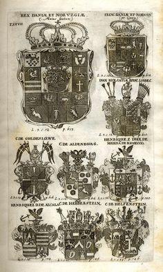 Spener, Philipp Jakob: Historia Insignium Illustrium Seu Operis Heraldici Pars Specialis. - Frankfurt <Main>, 1717. Jpg, Coat Of Arms, Rock Revival, Frankfurt, Maine, Vintage World Maps, History, Mannheim, Crests