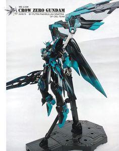GUNDAM GUY: MG 1/100 Crow Zero Gundam - Customized Build