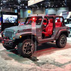 2013 Jeep Wrangler Rubicon 10th Anniversary Edition at the Chicago Auto Show