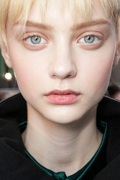 Soft Girly Pink Blushed Cheek Makeup Trend for Spring Summer 2013. Cacharel Spring Summer 2013. #makeup #trends