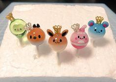 @lu_ulv_96  ナツカスさんtwitterより ポケモンチャップス So cute! #pokemon