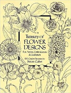 Treasury of Flower Designs for Artists, Embroiderers and Craftsmen - Livros na Amazon Brasil- 9780486240961
