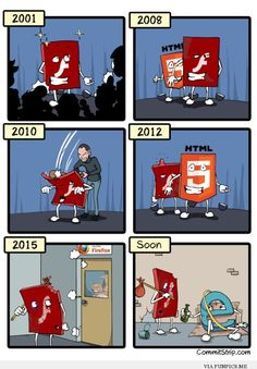 Hilarious - Brief history of flash