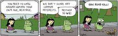 ❤ =^..^= ❤  Scary Gary Comic Strip, January 04, 2013 on GoComics.com