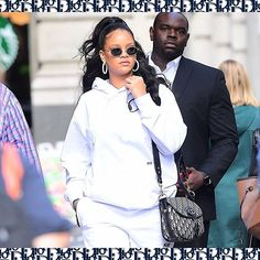 House friend Rihanna seen out and about wearing the Dior Oblique saddlebag designed by #MariaGraziaChiuri! #StarsinDior via DIOR OFFICIAL INSTAGRAM - Celebrity  Fashion  Haute Couture  Advertising  Culture  Beauty  Editorial Photography  Magazine Covers  Supermodels  Runway Models