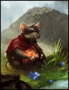Mrs. Brisby by ~daarken (Secret of Nimh) (Oh sweet Jesus, this is stunning.)