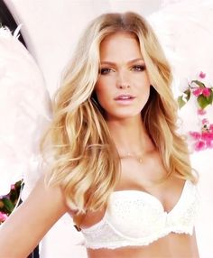 Erin Heatherton, another victim of every blemish, and detail being blurred, or removed.