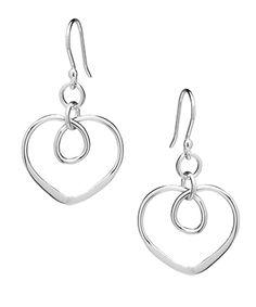 Tianguis Jackson Silver Eternity Heart Drop Earrings http://www.qualitysilver.co.uk/Jewellery/Tianguis-Jackson-Silver-Drop-Earrings.html