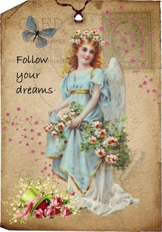 my digital 'follow your dreams' angel