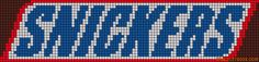 cuisine - kitchen - snickers - point de croix - cross stitch - Blog : http://broderiemimie44.canalblog.com/