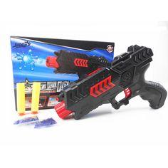 אקדח צעצוע כדור רך אקדח פיינטבול משחק CS גביש מים אקדח אוויר אקדח צעצוע ילד פלסטיק ילד מתנה לילדים מתנה רעיון