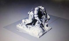 Zbrush +Rhino 3D modeling Benom of mavel http://m.blog.naver.com/tjwlscjftj