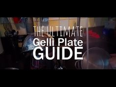 The second video about monoprinting with the homemade gelli plate. How to melt your old plate int a new one. What paper to use with gelli plate printing. Old Plates, Gelli Plate Printing, Gelli Arts, Surface Design, Arts And Crafts, Crafting, Youtube, Prints, Diy