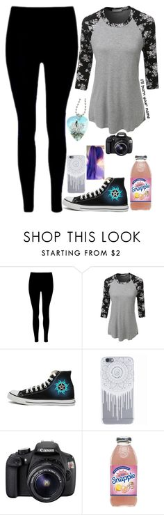 """State testing.. Kill me now"" by charley-baby ❤ liked on Polyvore featuring LE3NO, Converse and Eos"