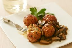 Holiday Apps | Chicken Marsala Meatballs by Giada De Laurentiis | Giada Weekly | www.giadaweekly.com