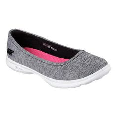 Women's Skechers GO Step Challenge Ballet Flat /Gray (US Women's (Regular))