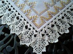 maribel garcia barrado para toalha de mesa