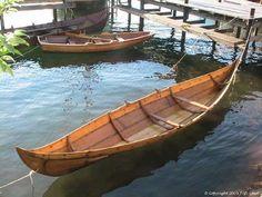 20 ft long - Gokstadfæringen - Gokstad faering - The Gokstad Ship find - Gokstadskeppet - Viking ships and norse wooden boats by Jørn Olav Løset, Norway