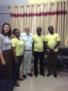 "SamCaitLife on Twitter: ""2 *NEW* Pics of @caitrionambalfe touring @WChildCancer's projects in Ghana added to the post"