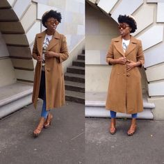 For the love of trench coats.visit @slick vintage for more.