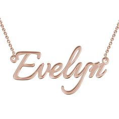 #BFCM #BlackFriday #CyberMonday #Soufeel - #Soufeel Personalized Name Necklace Rose Gold - AdoreWe.com