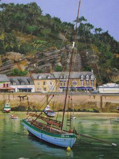Erquy, Bretagne, la France