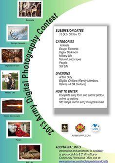 Army Digital photo contest #Armymwr