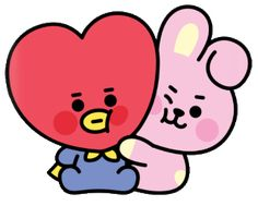 sticker by 💗 BTS. Discover all images by 💗 BTS. Find more awesome tata images on PicsArt. Cool Art Drawings, Bts Drawings, Baby Stickers, Cute Stickers, Vkook Fanart, Line Friends, Bts Chibi, Cute Cartoon Wallpapers, Aesthetic Stickers