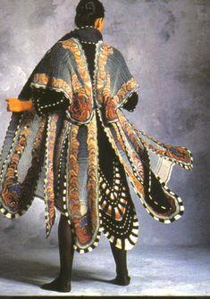 Morpho (1982) [crocheted wool] - Sharron Hedges