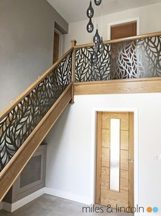 Miles and Lincoln - the UK's leading designer of laser cut screens for architecture and interiors, laser cut panels, balustrades and suspended ceilings Laser Cut Screens, Laser Cut Panels, Juliet Balcony, Cnc Plasma, Stairways, Laser Cutting, Luxury, Architecture, Lincoln