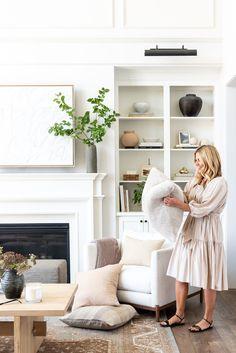 Home Living Room, Living Room Decor, Living Spaces, Estudio Mcgee, Home Design, Interior Design, Studio Room, Living Room Inspiration, Great Rooms