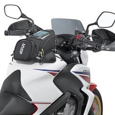 GIVI Motorcycle new fuel bag mobile phone navigation bag multi - functional small oil tank package magnetic fixed straps fixed  Price: 32.38 & FREE Shipping  #helmets|#clothing|#parts|#accessories Bike Gadgets, Hd Motorcycles, Scooter Motorcycle, Plein Air, Motorcycle Accessories, Rear Seat, Cool Bikes, Multifunctional, Luggage Bags