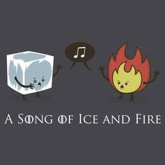 A song of Ice and Fire - Game Of Thrones Fans Natsu And Gray, Jaqen H Ghar, Le Book, Game Of Thrones Art, My Sun And Stars, Valar Morghulis, Fire And Ice, Geek Out, Good Books