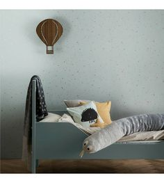 Ferm Living Behang Confetti mint groen 10x0,53m - wonenmetlef.nl