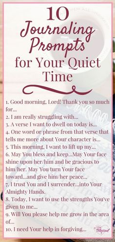 If you are wanting to take your relationship with God to a deeper level here are 10 journaling prompts for you to use in your quiet time to give you a way to stay focused dive deeper and intentionally seek the Lord in your daily life. Journal Writing Prompts, Christian Journaling Prompts, Bible Journal, Journal Jar, Devotional Journal, The Lord, Journal Questions, Therapy Journal, Was Ist Pinterest