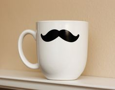 my love for fake mustaches & coffee mugs