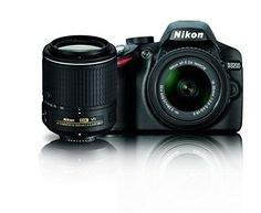 Don't let the compact size and price fool you — packed inside the Nikon D3200 Digital SLR Camera is some serious power: a 24.2 MP DX-format CMOS sensor that excels in any light, EXPEED 3 image-processing for fast operation and creative in-camera effects, Full HD (1080p) movie...