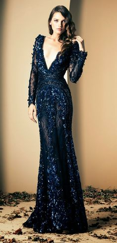 Ziad Nekad`s. Amazing gown. Would love to see this on someone this awards season.