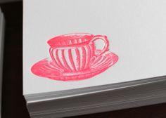 Downton Abbey gift idea -  Teacup_card