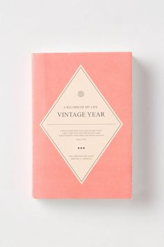 a record of my life / weekly & monthly vintage planner / sometimes nothing is better than pen & paper