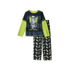 Boys 4-12 LEGO Star Wars 2-Piece Pajama Set, Boy's, Size: 6-7, Oxford