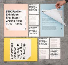 STIK Pavilion Exhibition on Behance in Branding & Identity