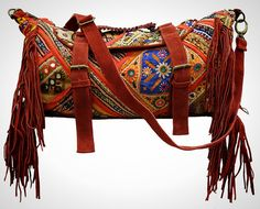 Wanderlust: 22 Killer Boho Weekender Bags via Brit + Co.