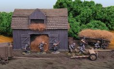 Miniatures from Bolt Action and Crusader Miniatures
