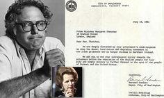 Bernie Sanders made plea to Margaret Thatcher on behalf of IRA prisoners in 1981 | Daily Mail Online