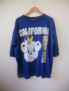 80's 90's Vintage blue thin Sweatshirt by ATELIERVINTAGESHOP, $40.00